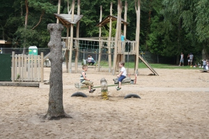 The Waldau has one of Bonn's biggest playgrounds and animals too!