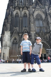 The Cologner Dom!  So big it's hard to fit it all in a single picture.