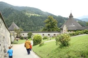 Hohenwerfen Fortress. Werfen, Austria.