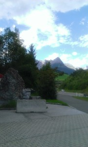 Even the rest stops in Austria are pretty!