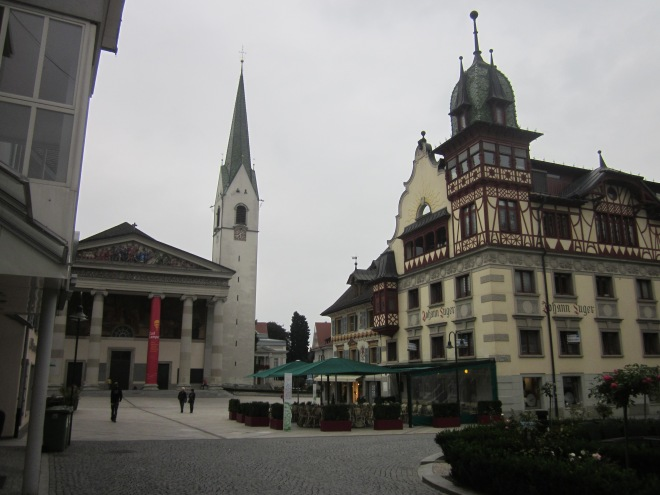 City center of Dornbirn