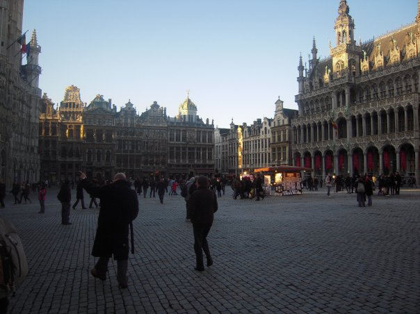 The Grand-Place (Main Square) in Brussels, Belgium.