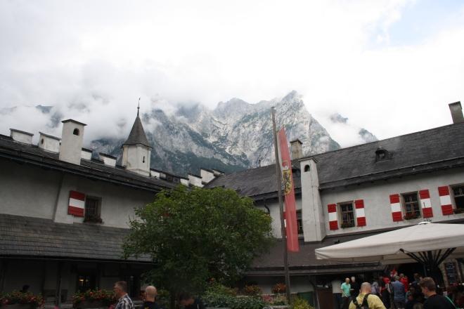 Burg Hohenwerfen in Werfen, Austria.