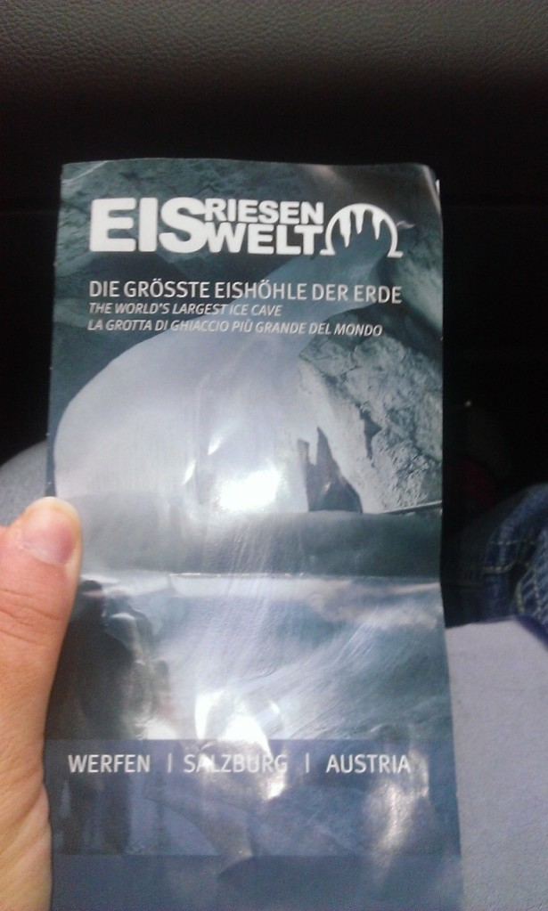 Brochure for the Eisen Welt (Ice World)