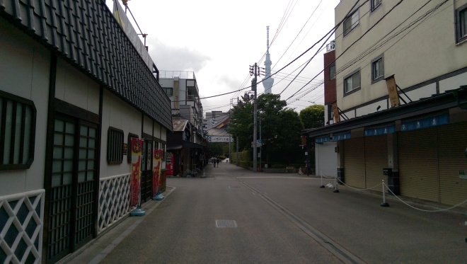 The neighborhood of our hostel.
