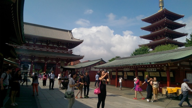 Senso-ji and Asakusa Temple.
