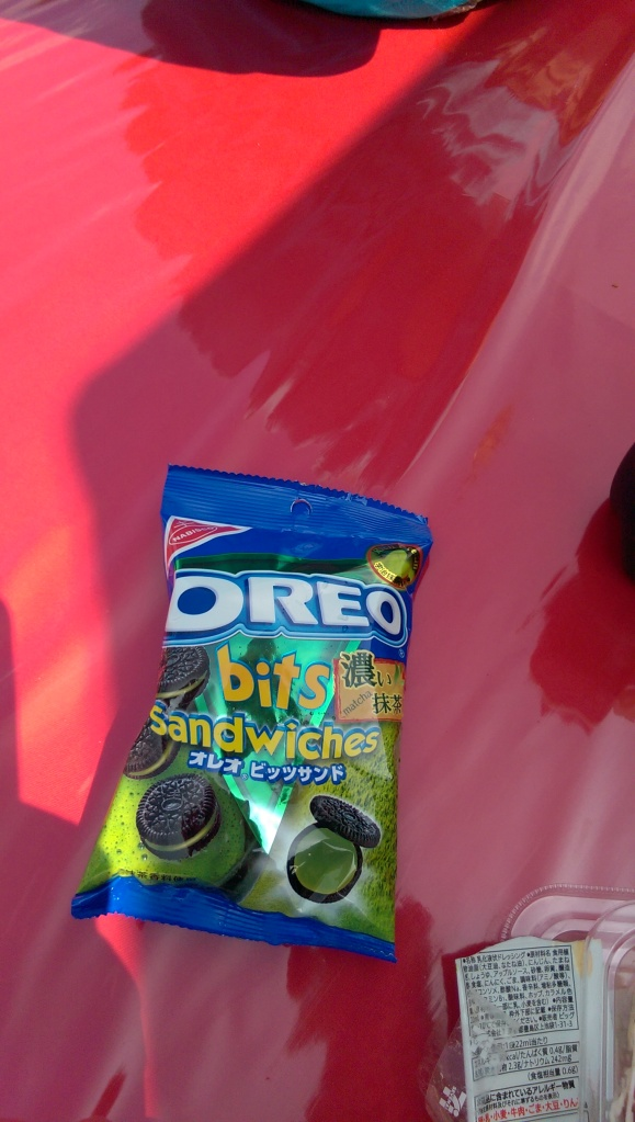 A ton of American candies and cookies have green tea flavoring in Japan.