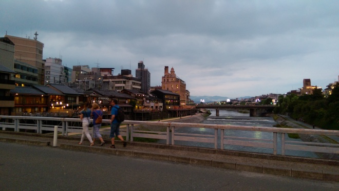 Kyoto on the river!