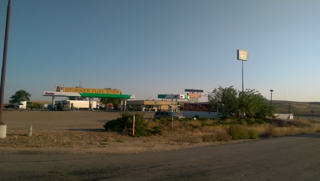 Great stop for free showers near Caldwell, Idaho.