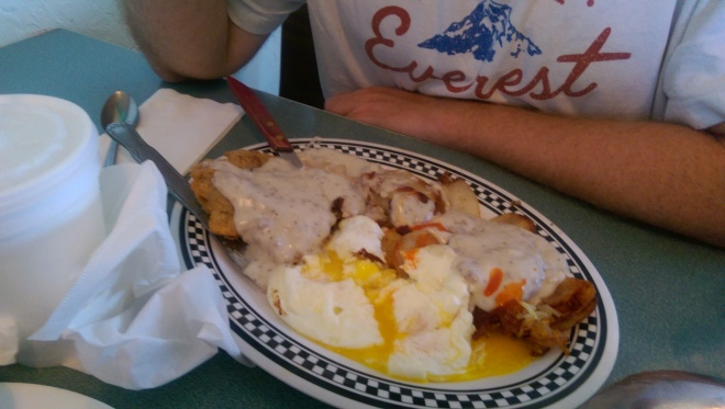 Choate's Family Diner was a great breakfast stop in Jerome, Idaho.  Just outside of Twin Falls.