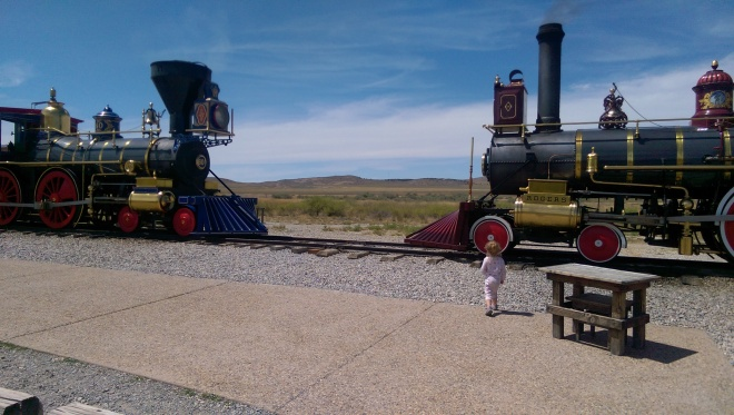 Golden Spike National Historic Site. Promontory, Utah.