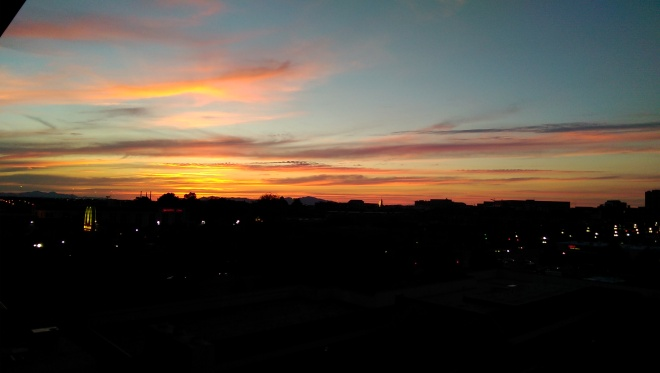 Salt Lake City Sunset.